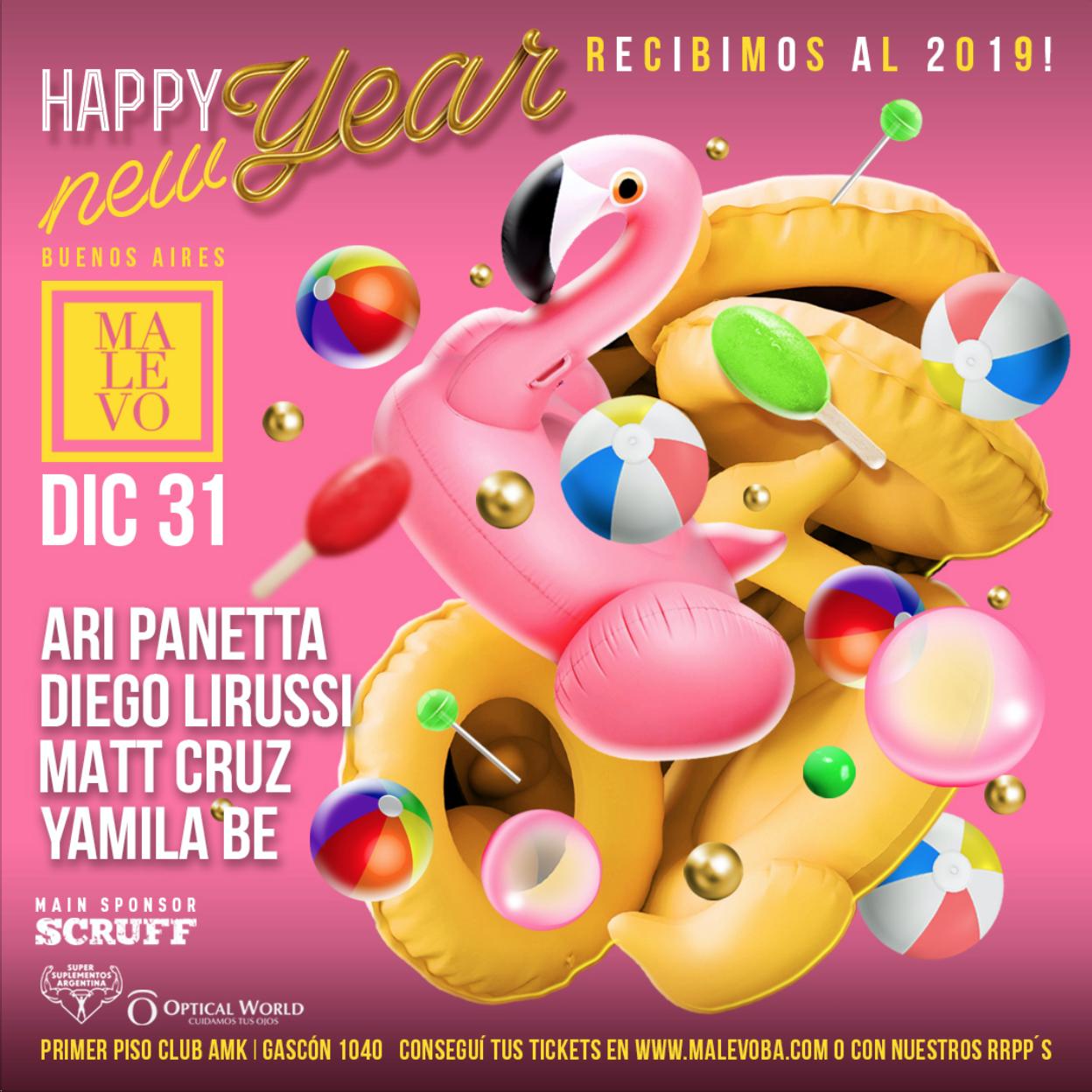 Año Nuevo 31 DIC