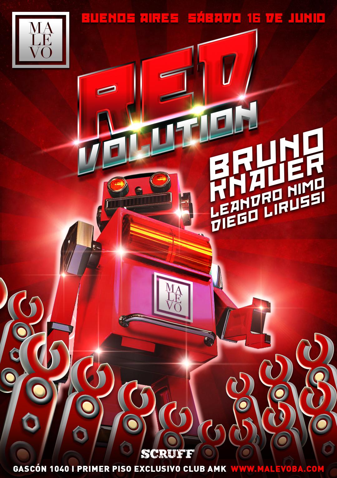Malevo/Redvolution 16/6/18