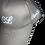 Thumbnail: Grey and White ClueLess Baseball Cap