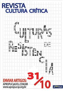 REVISTA CULTURA CRITICA - CULTURA DE RES