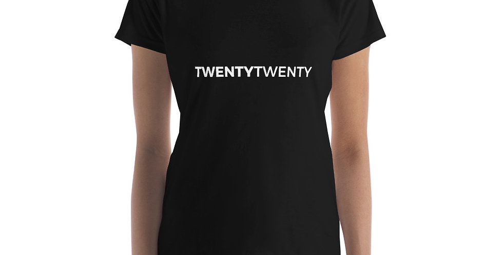 Black t-shirt Twenty Twenty