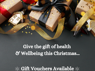 Give the gift of Health & Wellbeing this Christmas