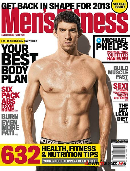 Men's Health January 2013