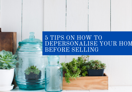 5 Tips on how to depersonalise your home before selling