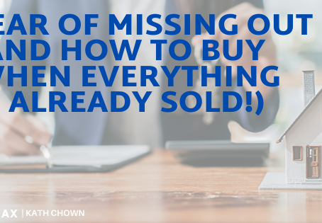 FOMO – Fear of Missing Out (and how to buy when everything is already sold!)