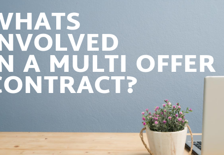 Whats involved in a multi offer contract