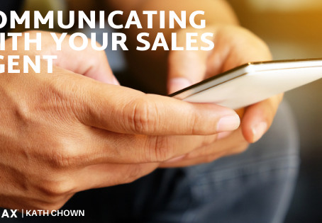 Communicating with your sales agent