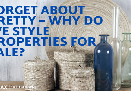 Forget about Pretty – Why do we Style Properties for Sale?