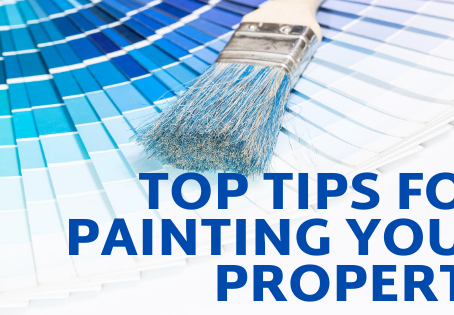 3 top tips for painting your property