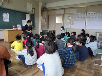 お久しぶり!陸前高田小学校🌹