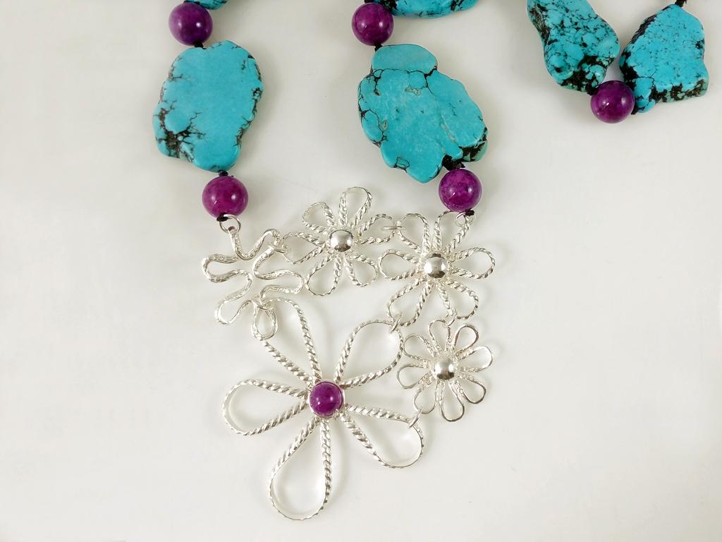 Collar Flores 1