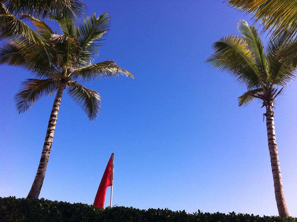 The sky in Puerto Rico