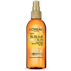 L'oreal Paris Sublime Sun Advanced Sunscreen Oil Spray SPF 50+