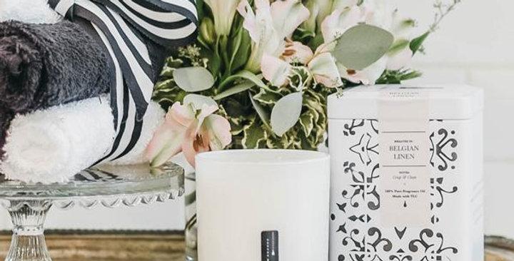 Belgian Linen - Fresh Linen Candle