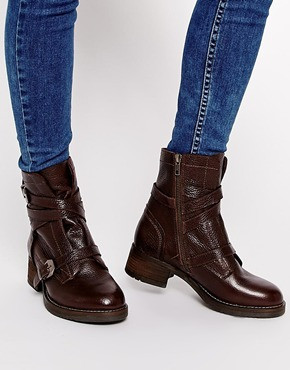 ASOS APOLOGY Leather Biker Boots