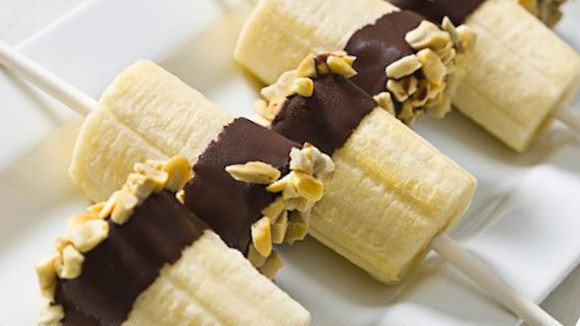 Chocolate Dipped Bananas