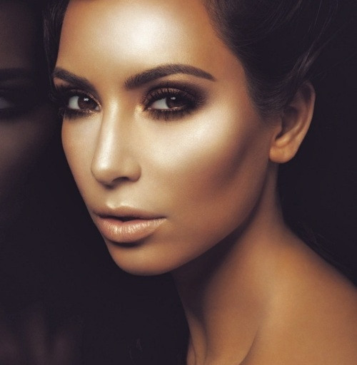 The Queen of Smokey Eye- Kim Khardashian