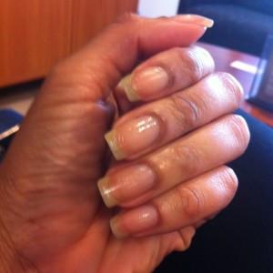 Natural Nails, No Polish Circa 2012
