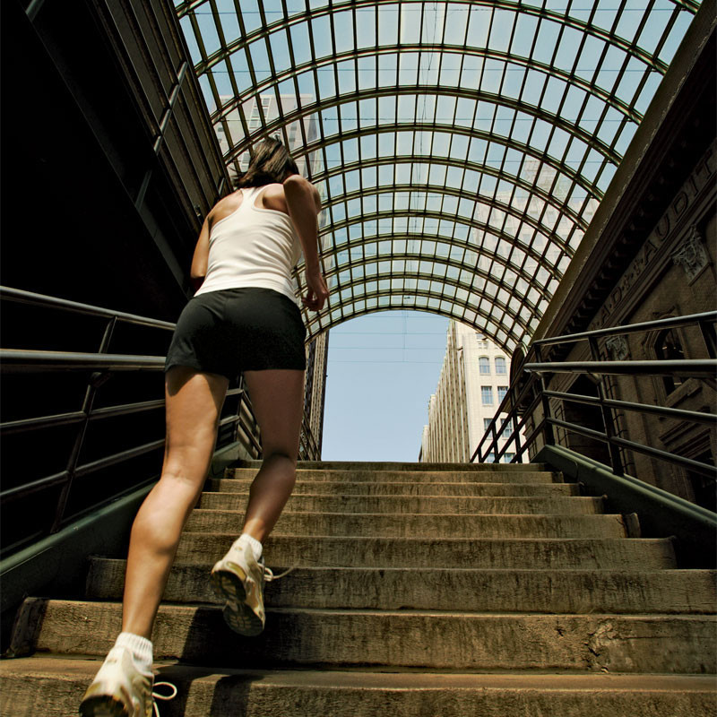Stairs Are a Great Workout You Can Do Whenever You See Them.