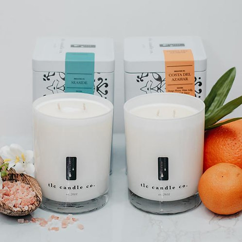 luxury candle, soy candle, hand poured