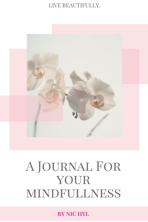 Nic Hyl Digital Mindfullness Journal