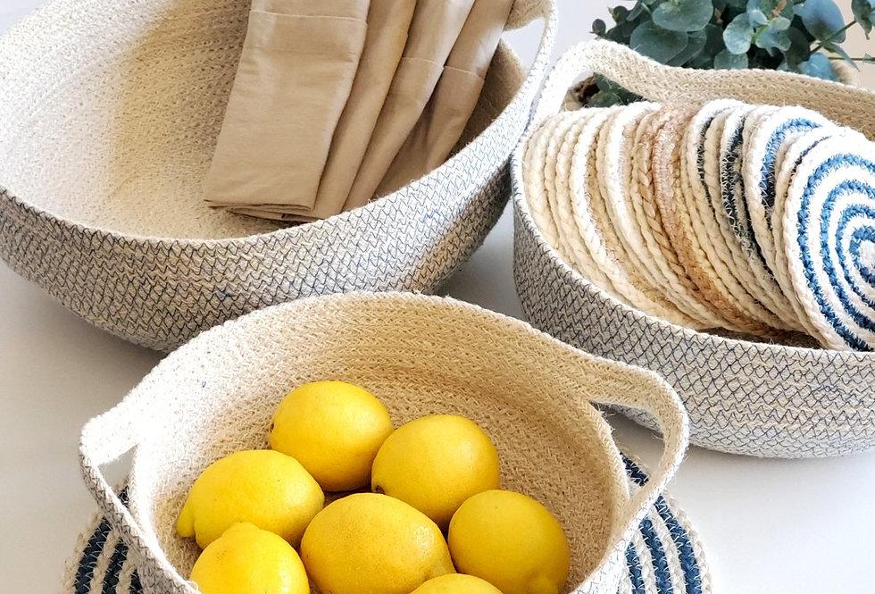 baskets, home accessories, handmade, sustainable, artisan
