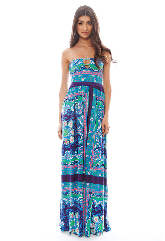 lovers + friends PS I Love You Maxi Dress