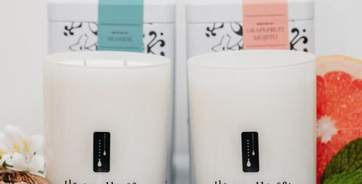 """""""On Vacation"""" Luxury 2-Wick Candle Duo"""