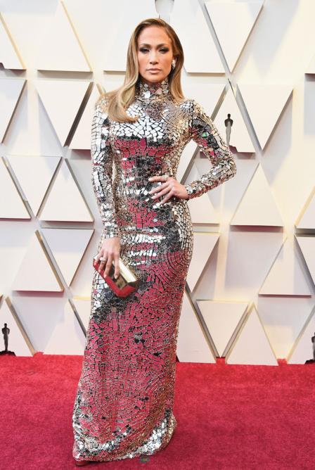 Jennifer Lopez in Tom Ford. Photo: Steve Granitz/WireImage Expand Photo