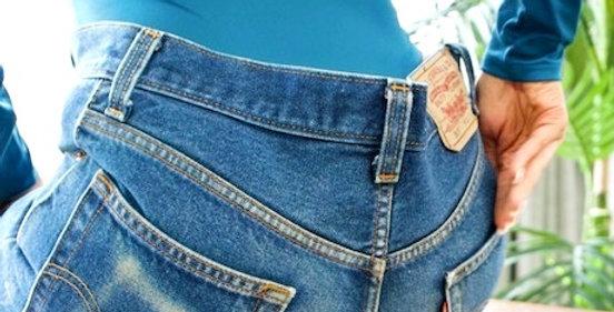 vintage levi shorts, cutoff shorts, women's shorts, denim