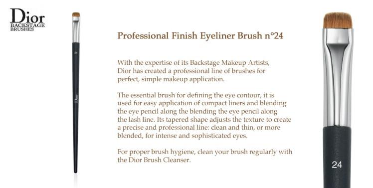 The #24 Brush