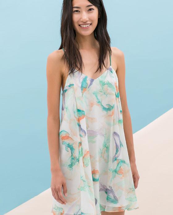 Printed Dress www.zara.com