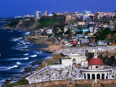 Puerto Rican Coast asSeen From Old San Juan