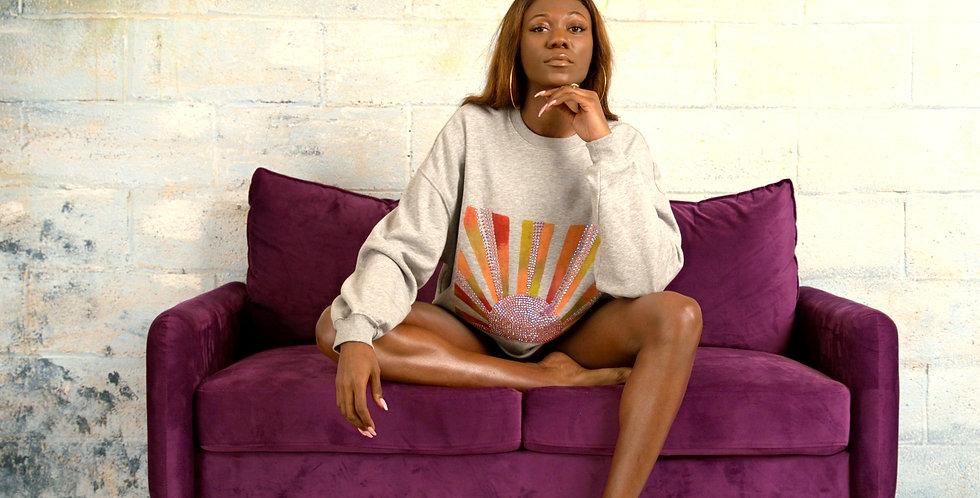 loungewear, lounge wear, sweatshirt, women's fashion, handmade