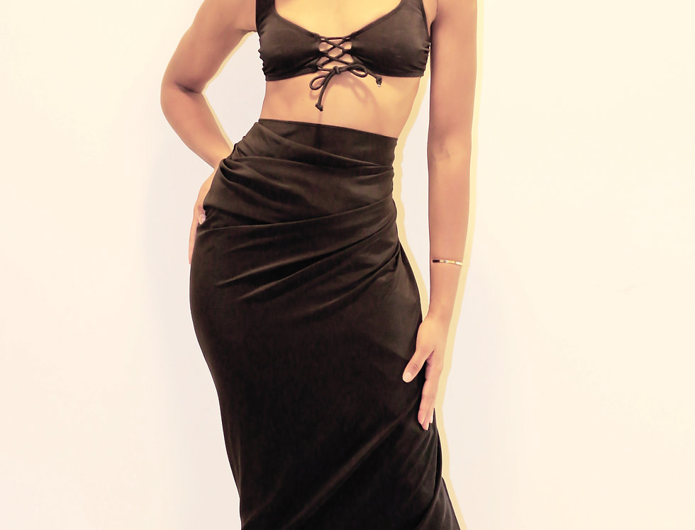 The Oversized Silk Sarong