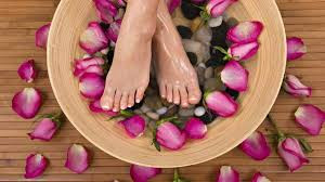 At Home Foot Soak or Spa