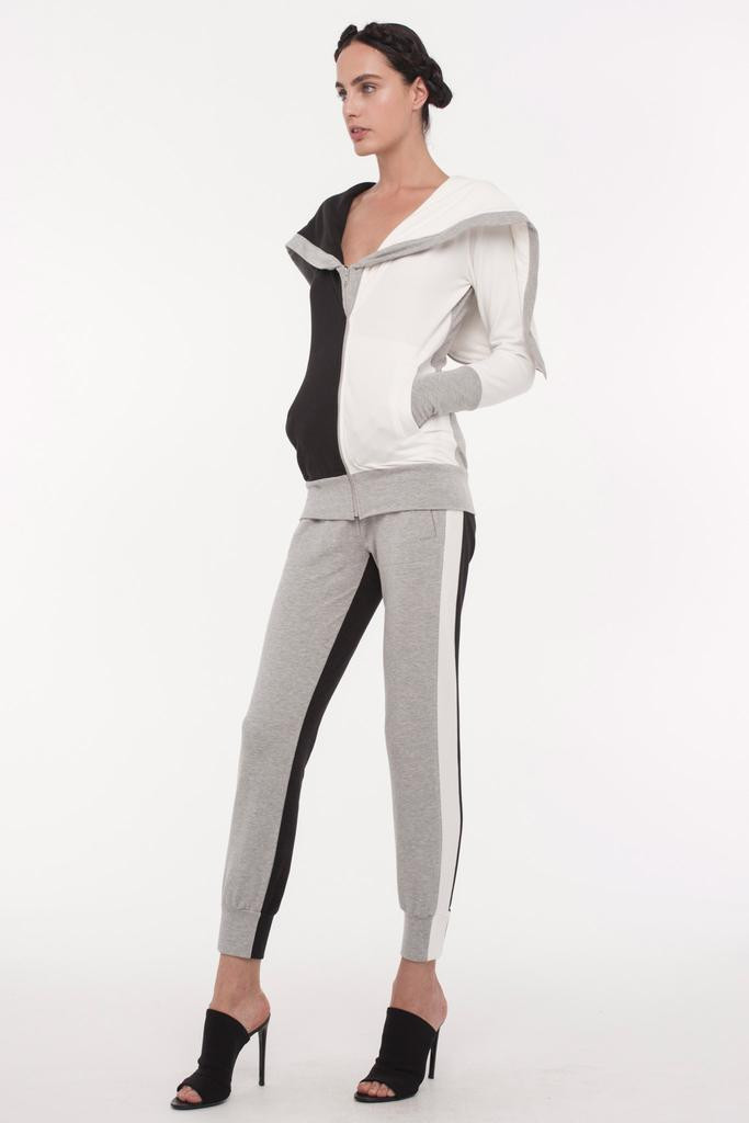 Norma Kamali Terry Cloth Track Suit