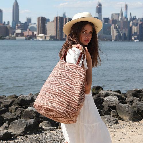 sustainable tote, handbag, accessory, handmade, ethically made, Korissa
