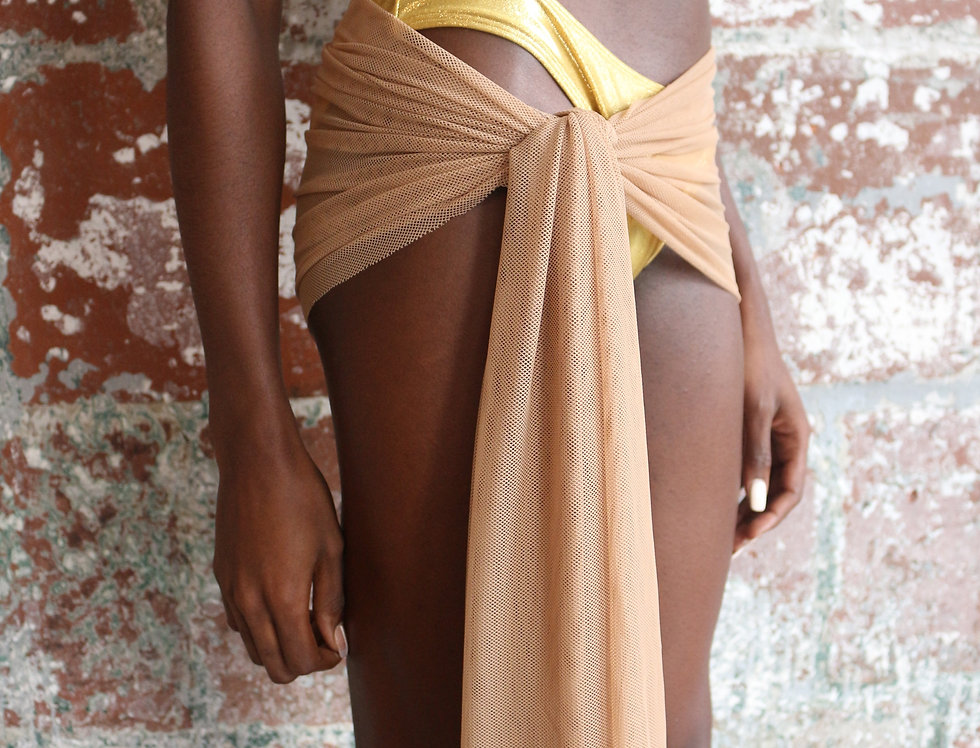The Mini Mesh Sarong