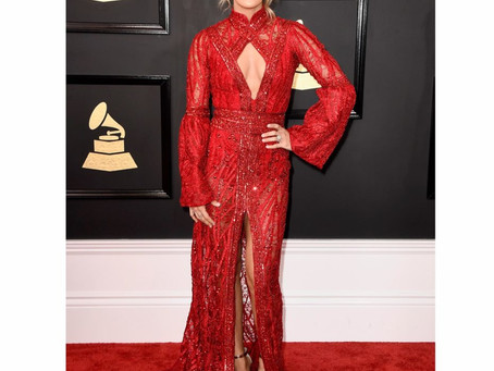 Best of 59th Annual Grammy Awards Red Carpet Fashion