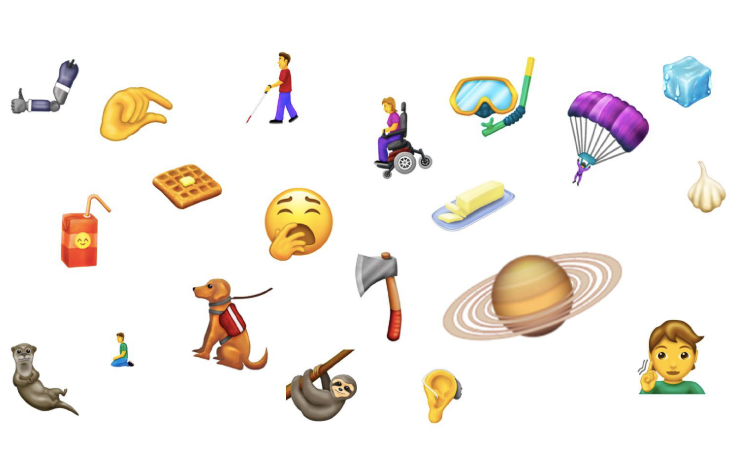 230 New Emojis being added to the popular keyboard by Unicode.