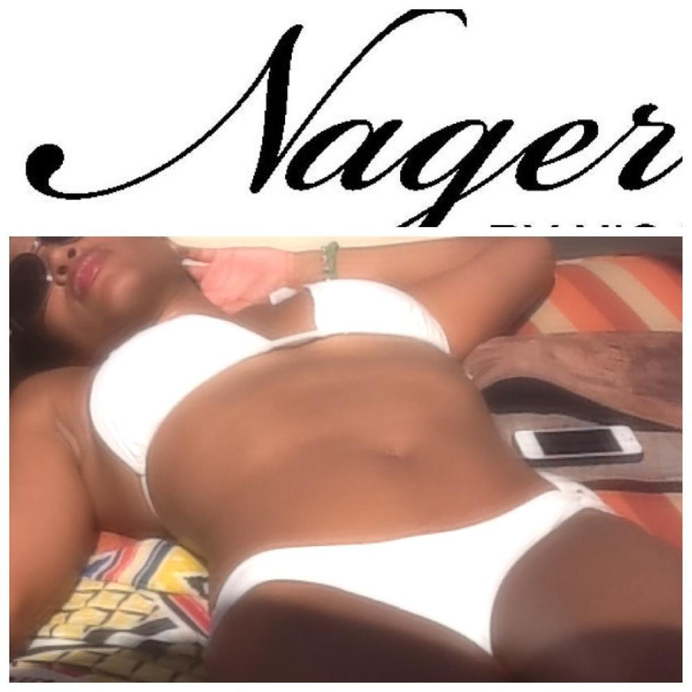 White Classic Bikini Nager By Nic Hyl www.nagerbynichyl.com