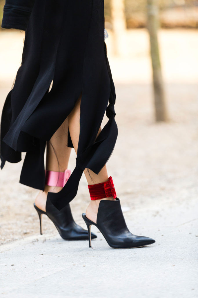 London Street Style- Mules