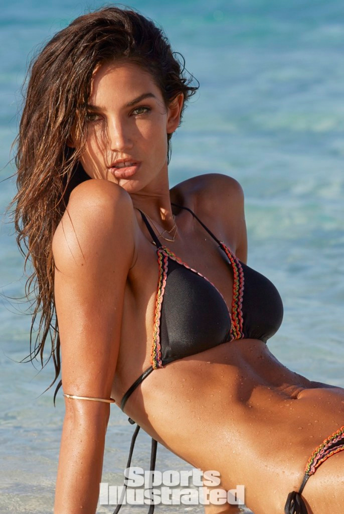 Swimsuit 2014: Cook Islands Lily Aldridge Beach/Rarotonga, Cook Islands, New Zealand