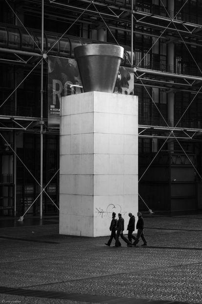 Centre Georges Pompidou, Paris, 2009