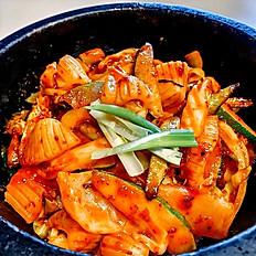 Stir Fried Spicy Squid Stonpot