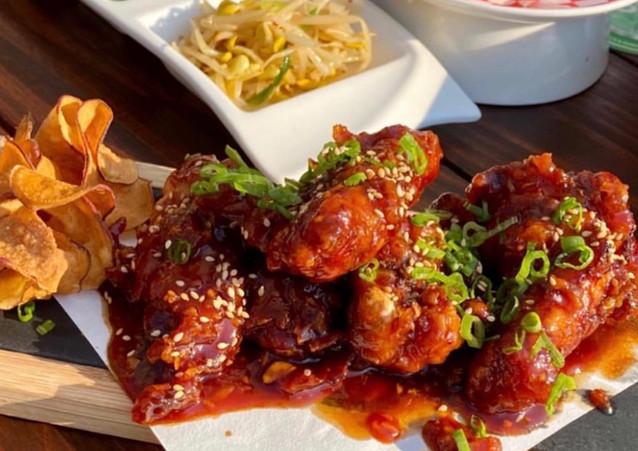 Gochu Wings on Miga Restaurant