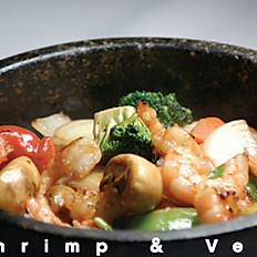 Shrimp Vege Rice Bowl