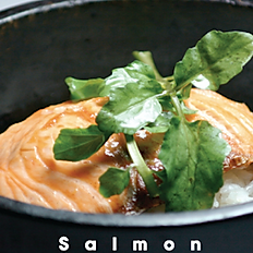 Salmon Teriyaki Stonepot