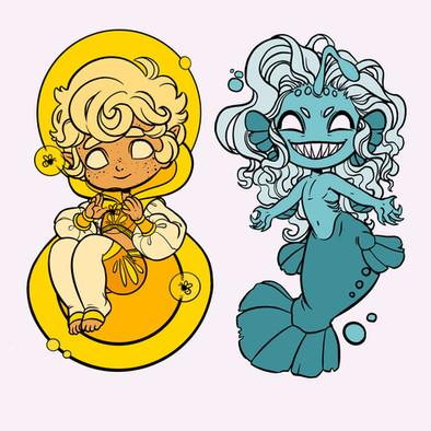 Helios and Nyx